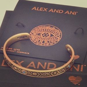 Like new Alex & Ani Evil Eye Bangle